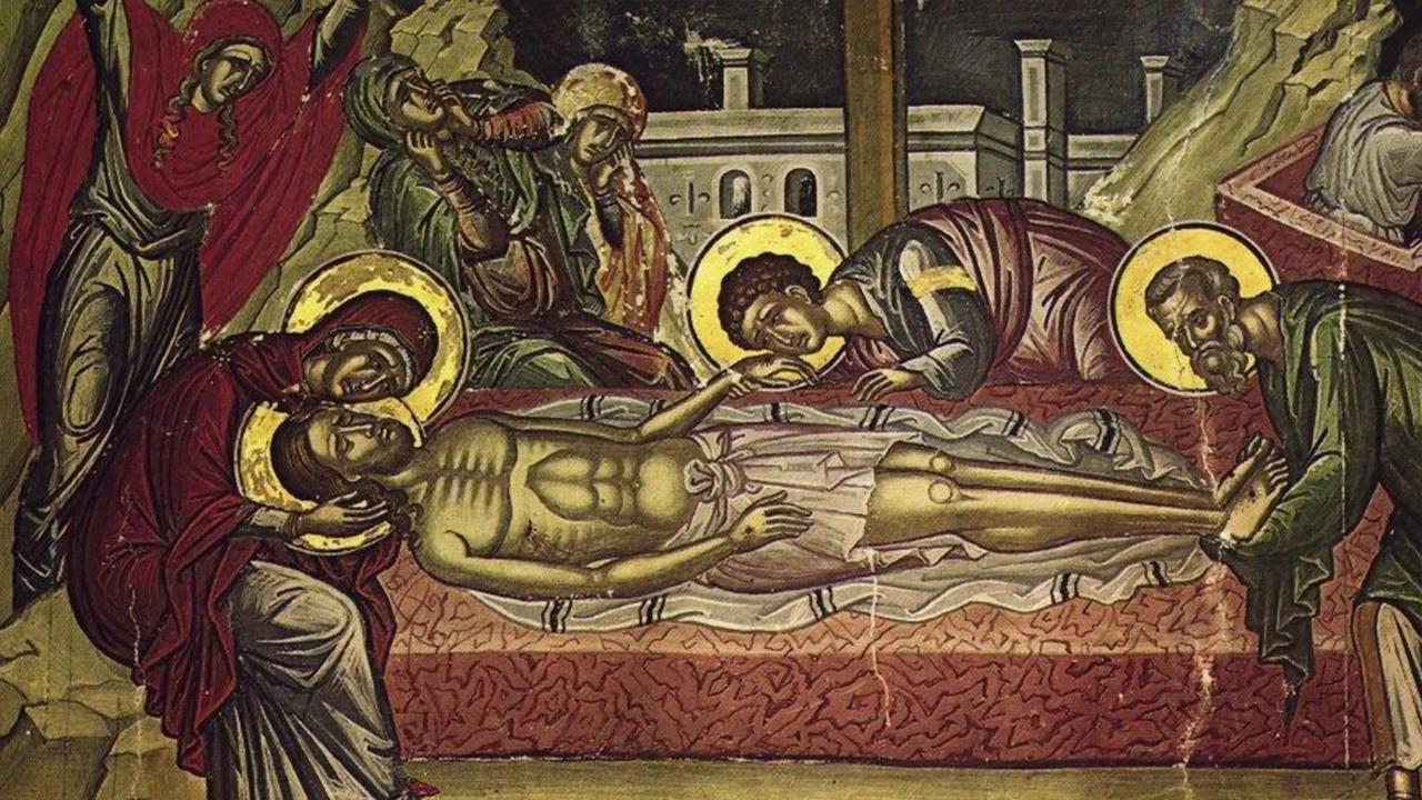 Η θυσία του Χριστού - Επί ασπαλάθων