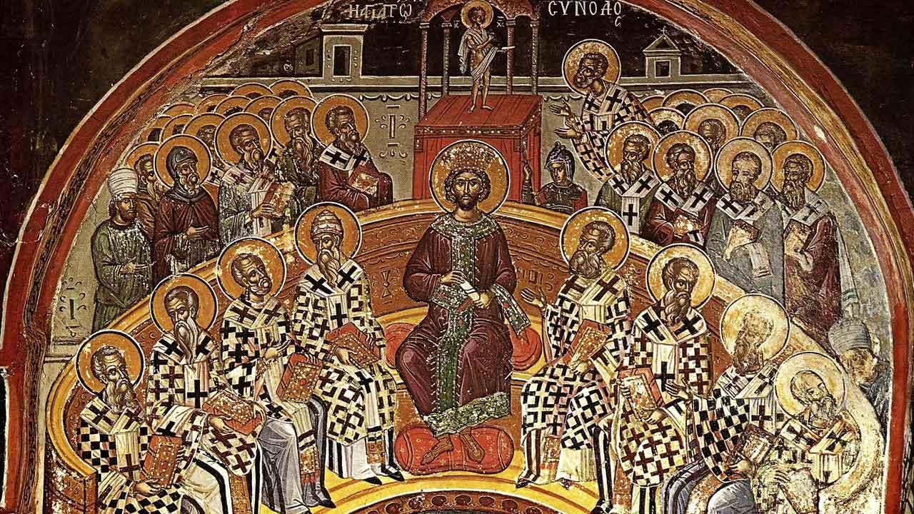 Ευαγγέλιο Κυριακής των Αγίων Πατέρων 20.5.2018